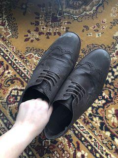 Milanos Mens Brown Shoes