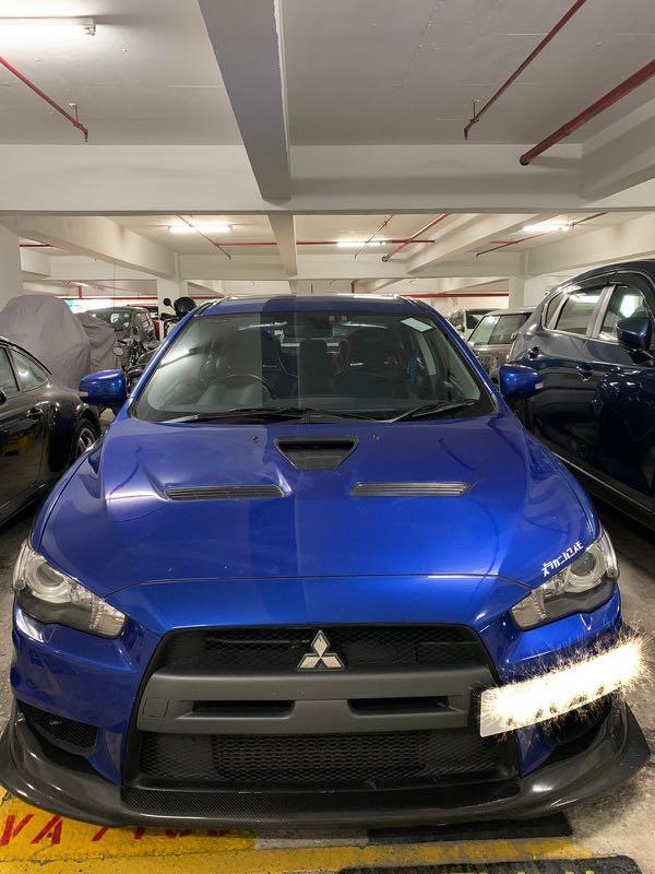Mitsubishi Lancer Evolution X SST MIVEC Turbo GSR (A)