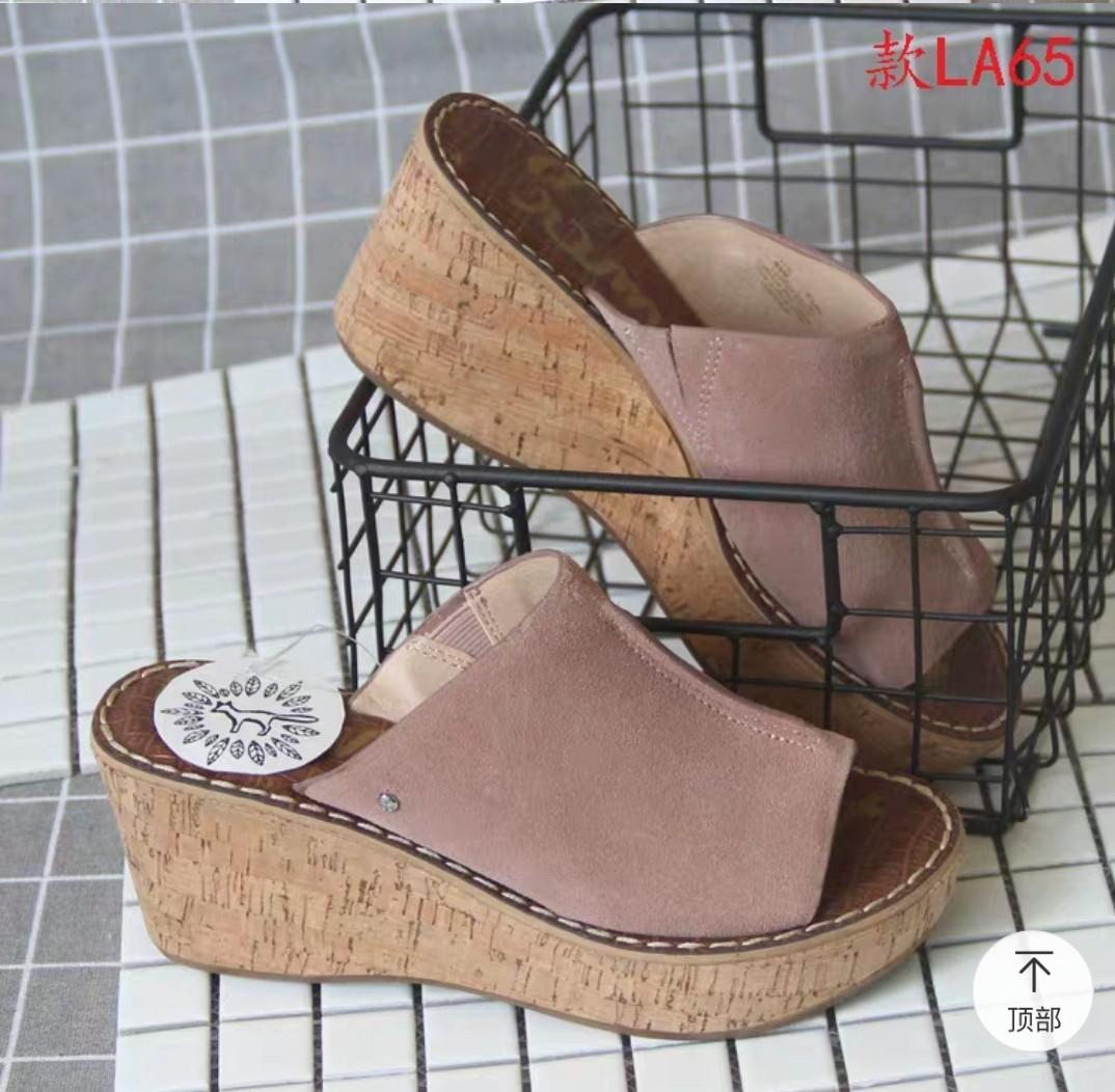Plus size wedges / sandal / slip on