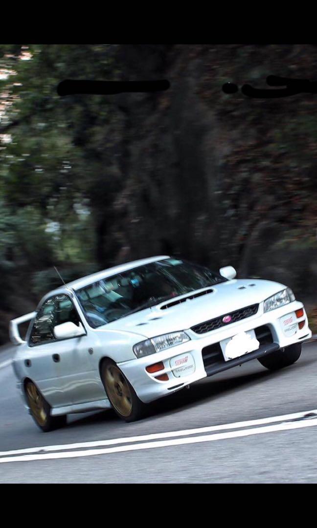Subaru WRX Gc8 Manual