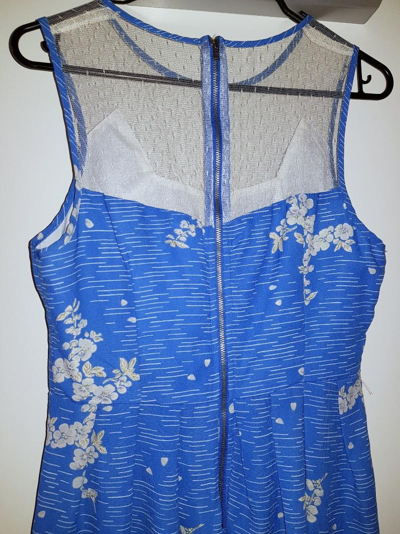 Sz10 Cute blue dress $15