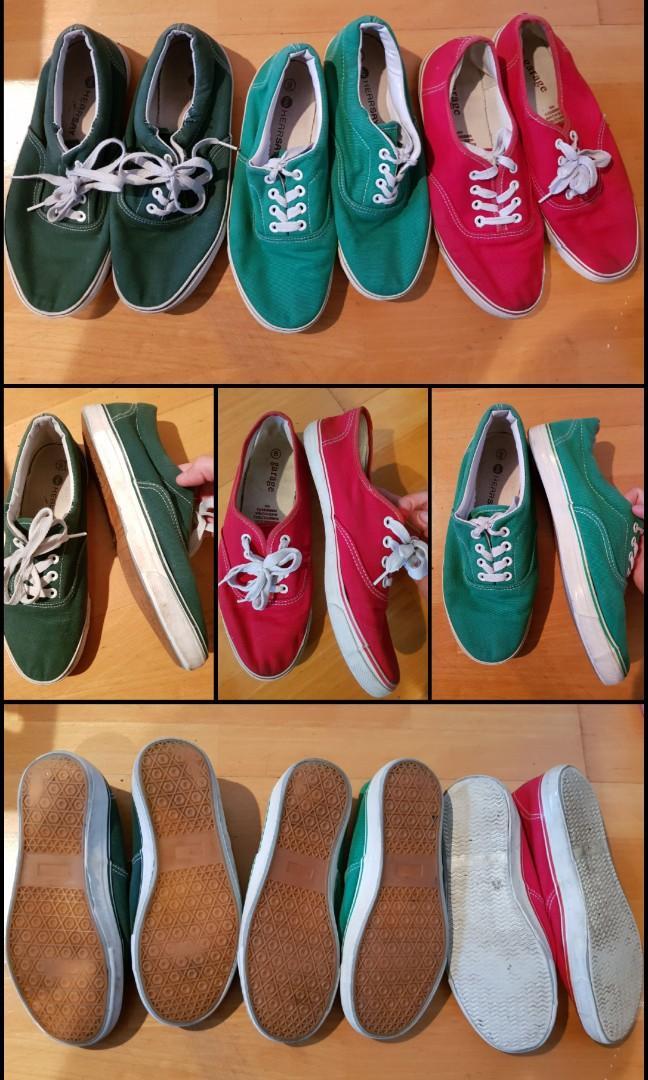 Sz9 Canvas shoes $5 each