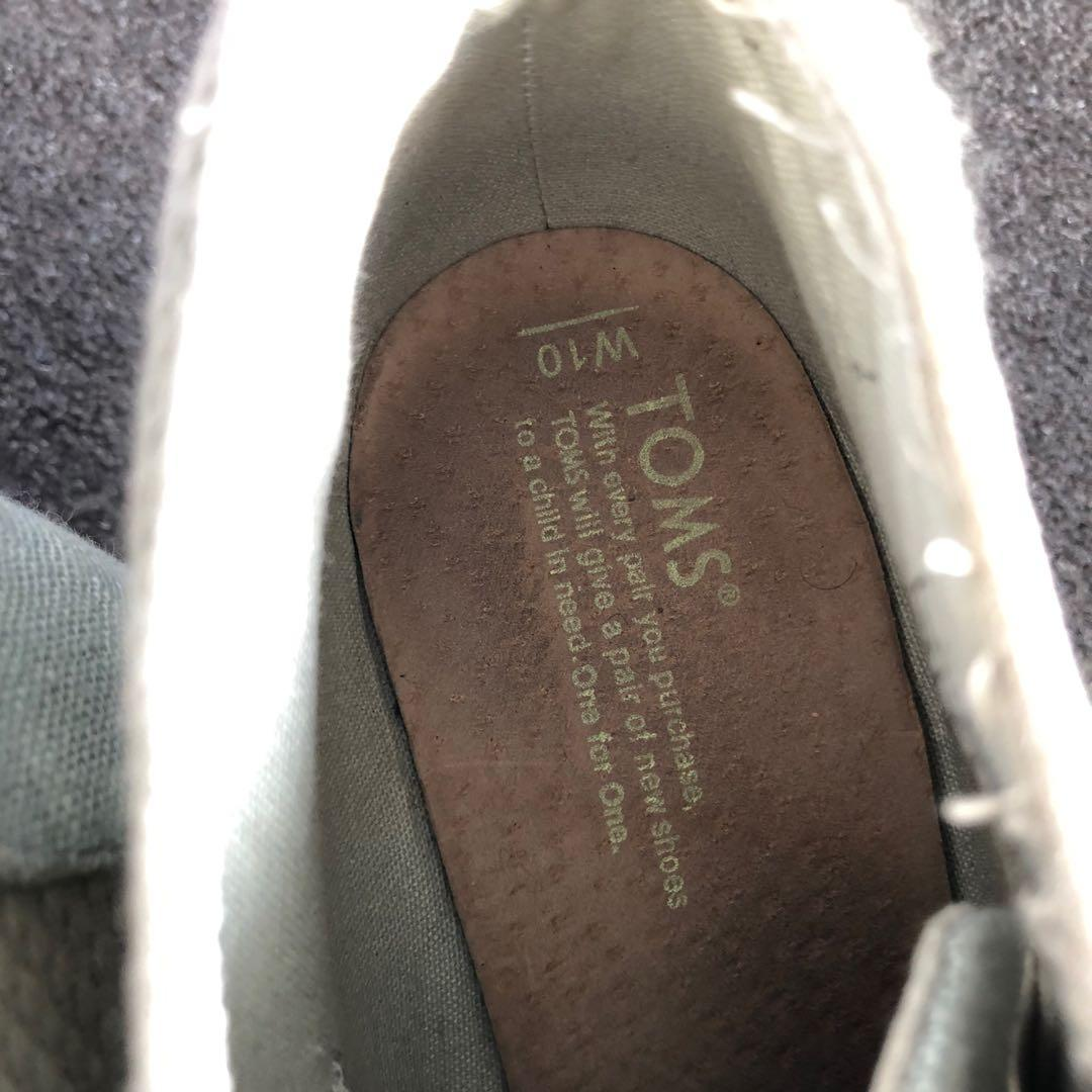 TOMS Wedges // Size 10