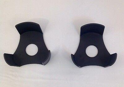Vehicle Car Rubber Cup Holder Spacer Insert Liner Grip for Center Console