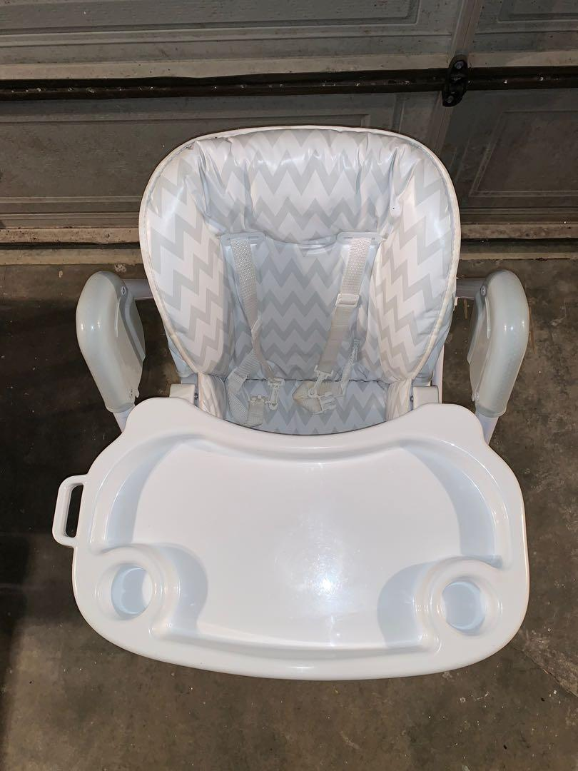 White / Grey highchair