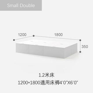 全新現貨地台床 3/4/5/6尺 組合床 儲物床 三色可選
