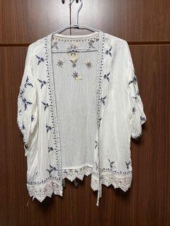 (全新)波希米雅風罩衫