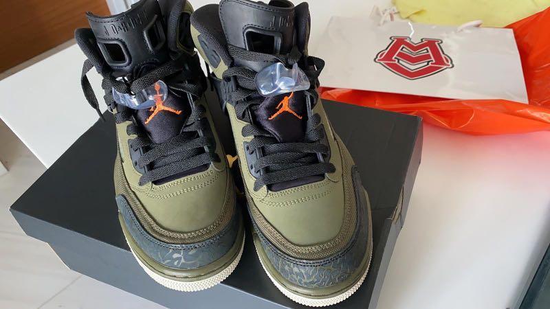 Air Jordan Spizike (Olive Canvas), Men