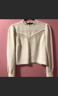 Aritzia Wilfred Delaney Blouse Size Small