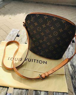 Authentic Louis Vuitton Drouot Crossbody Purse