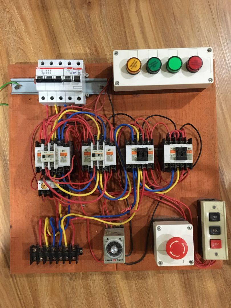 Board Control Starter Services Home Services Electrical Lighting Wiring On Carousell