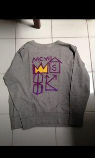 Crewneck Uniqlo x Jmb Rare Jean Michel Basquiat