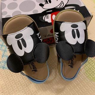 Disney 米奇涼鞋 小孩尺寸#23