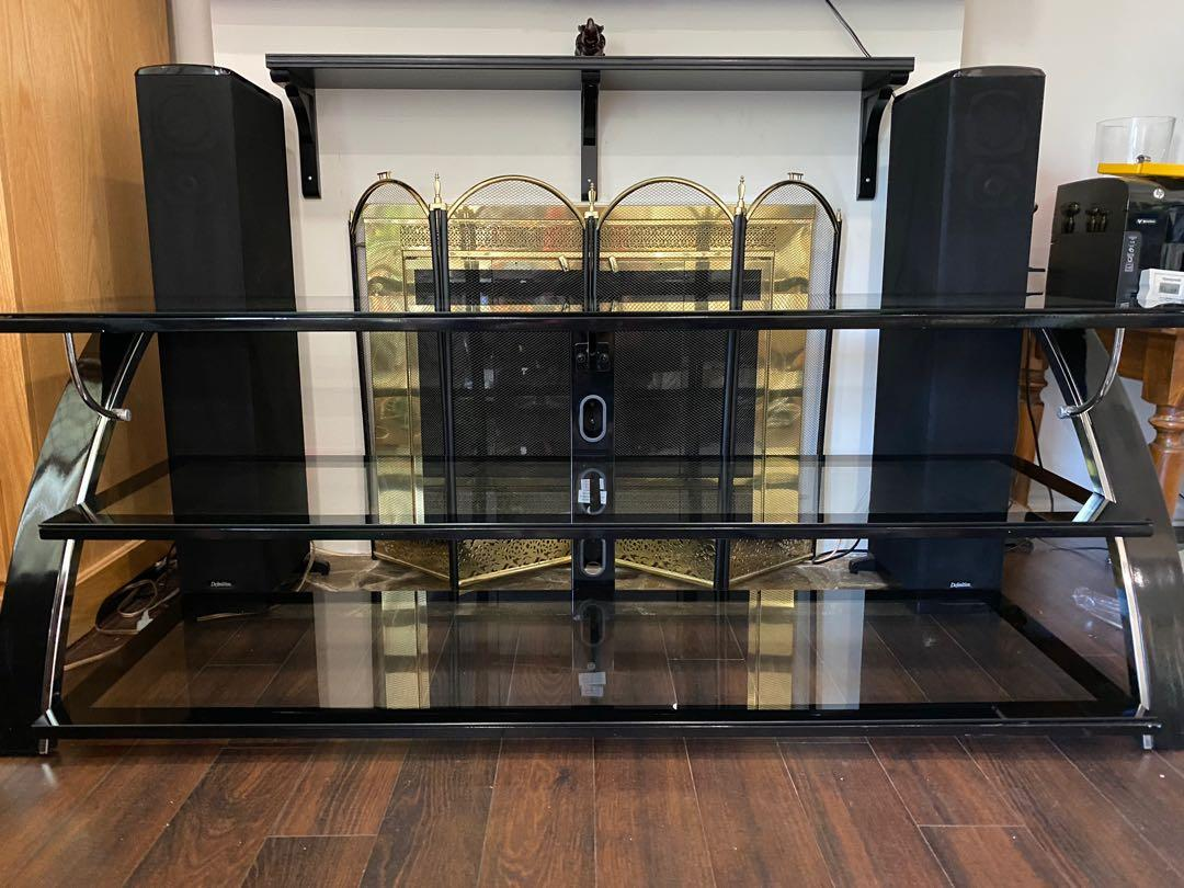 Glasstop TV Stand