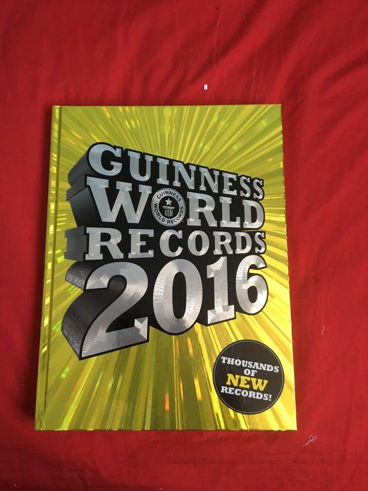 Guinness worlds records book 2016