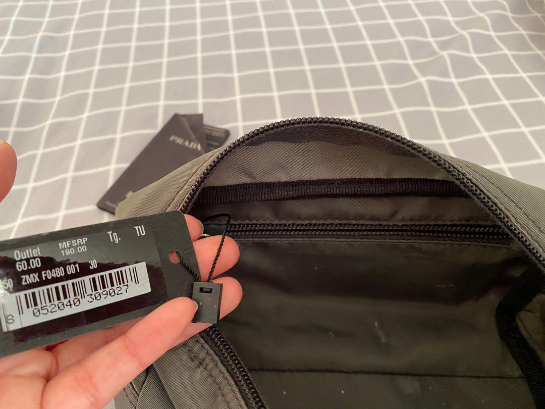 Prada pouch authentic