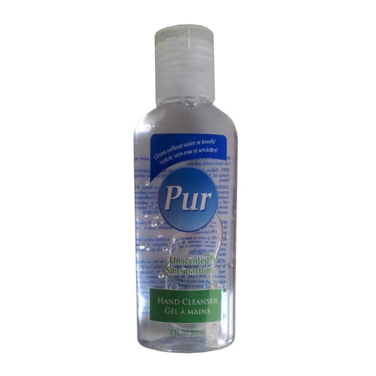 Pur Unscented Hand Sanitizer Cleanser (60ml)