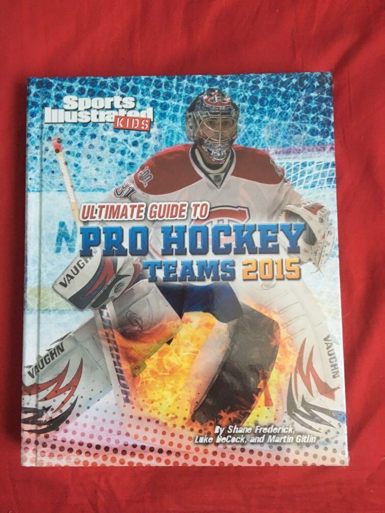 Sports illustrated pro hockey books 2015
