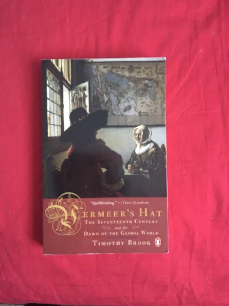 Vermeers hat book Timothy Brook