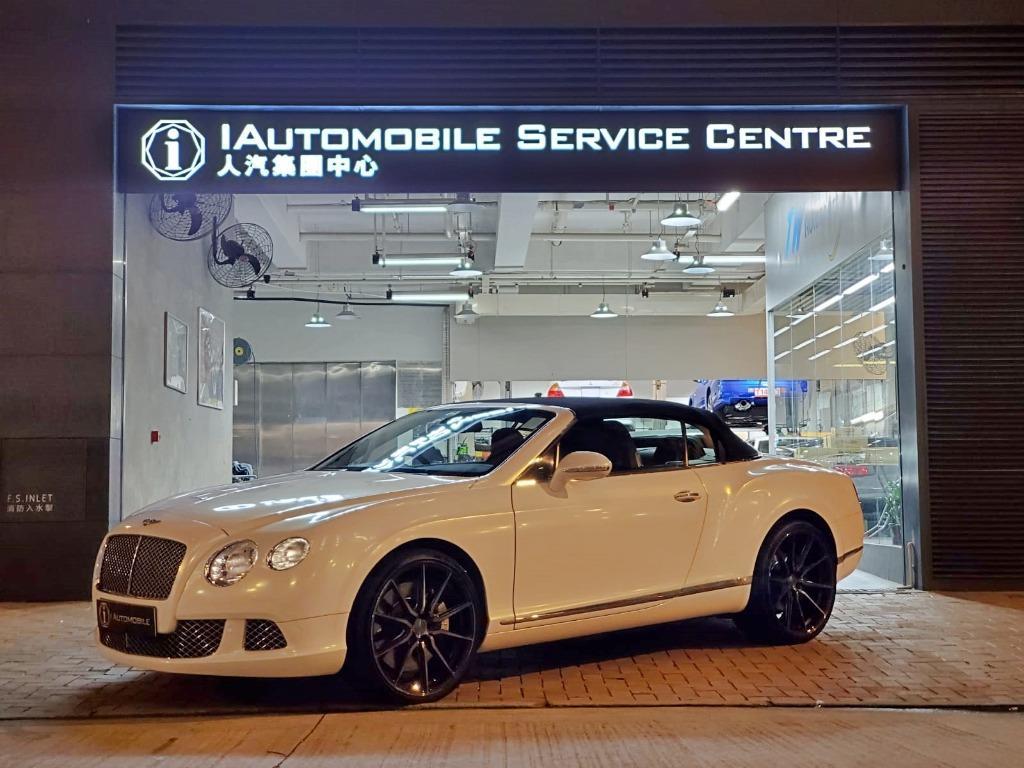 Bentley Continental 6.0 GT Convertible (A)