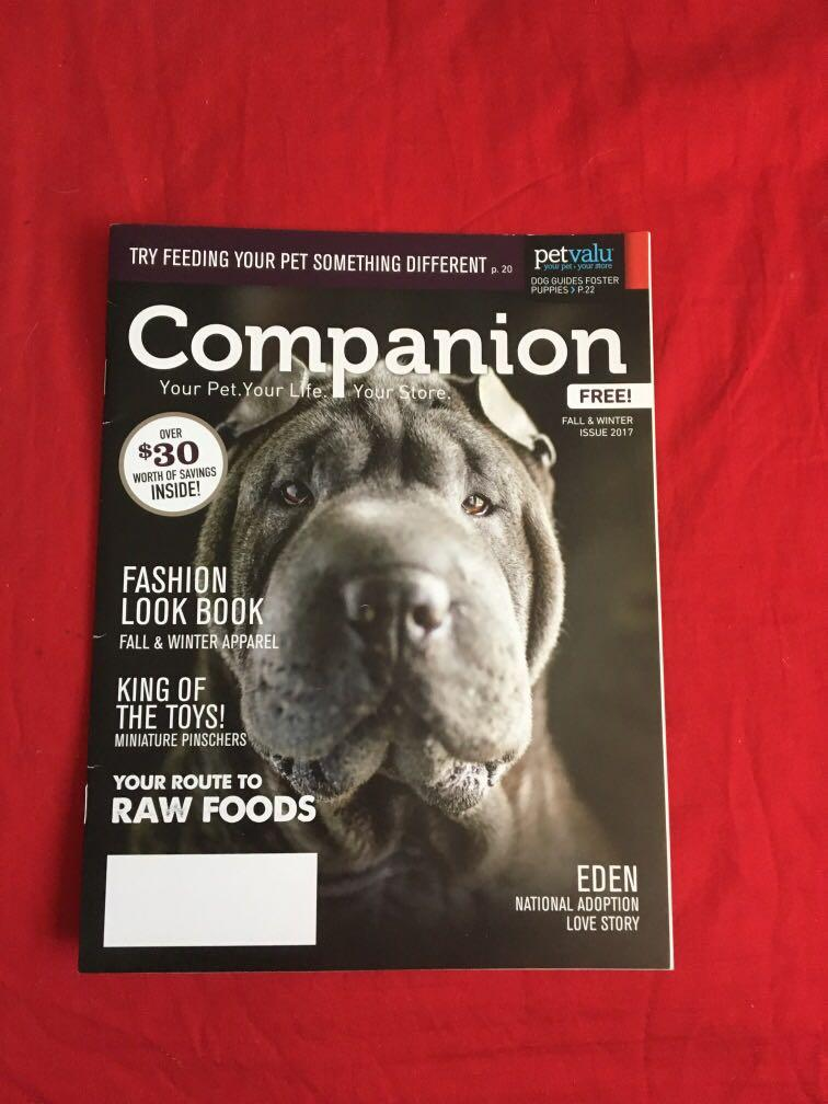 Companion pet magazine