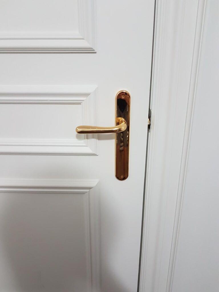 Fancy Italian door knobs  in almost new condition.
