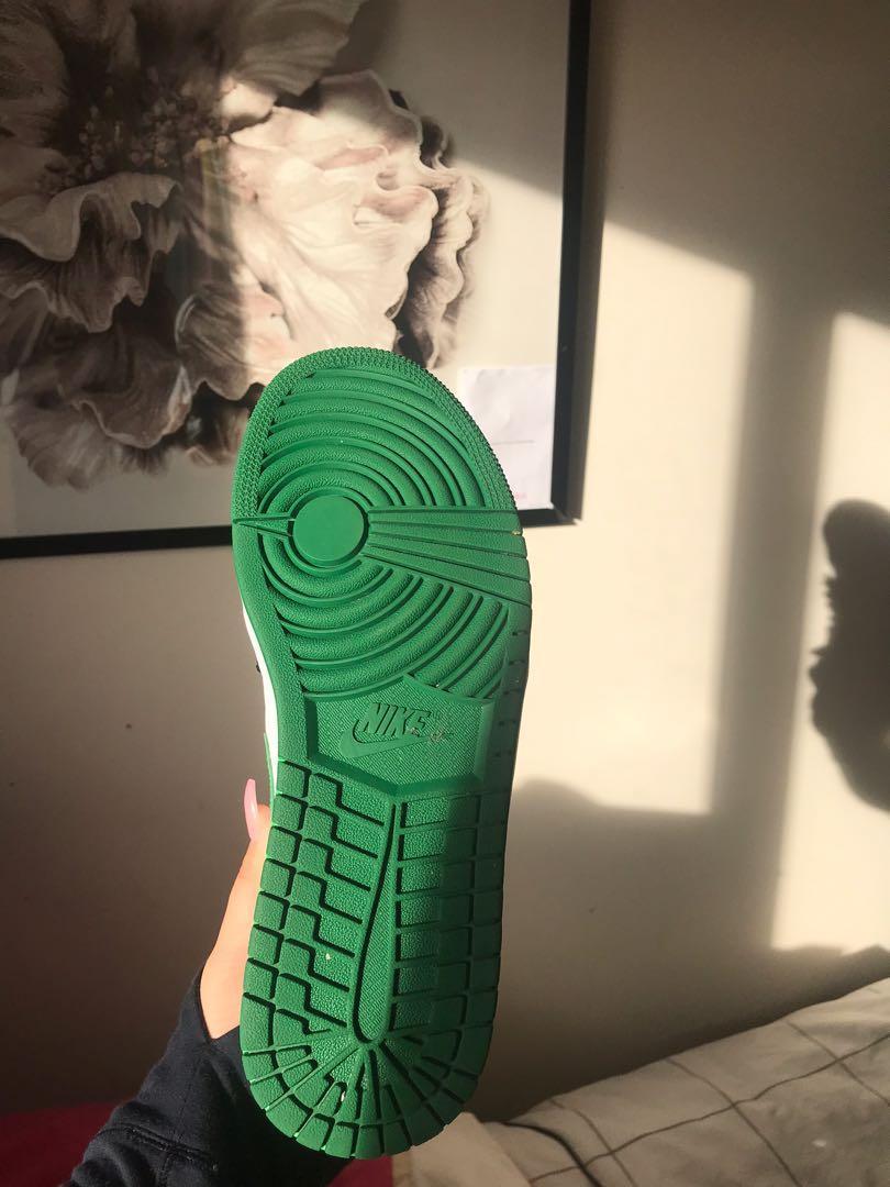 Green  Air Jordan's !!!! Size 9