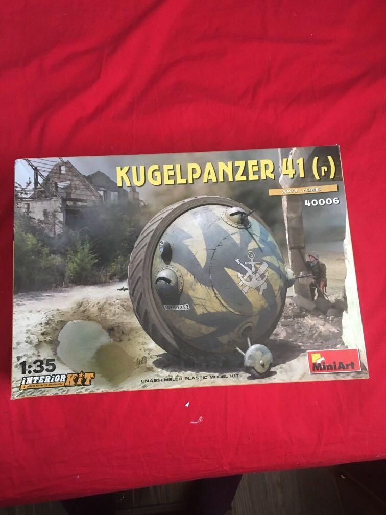 Kugelpanzer 41 model art kit