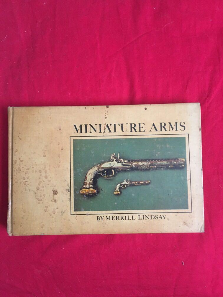 Miniature arms book Merrill Lindsay