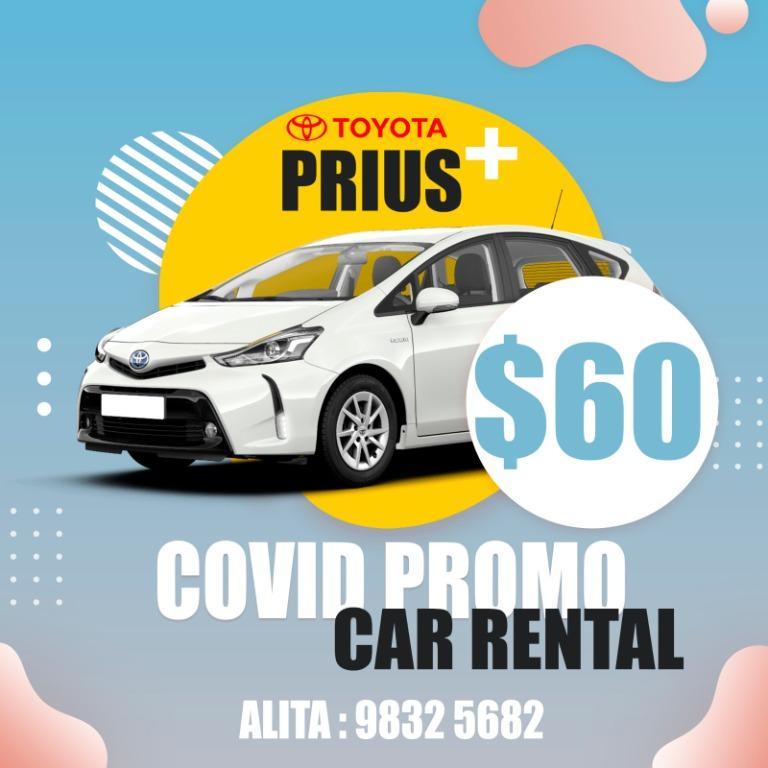 BRANDNEW Toyota Prius Plus 1.8 Hybrid 2019! Free $4900 petrol / 18 days free rental