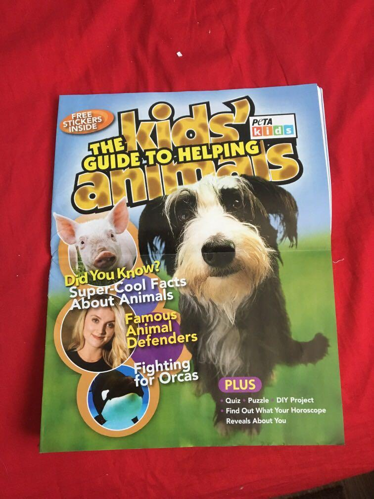 Peta kids magazine