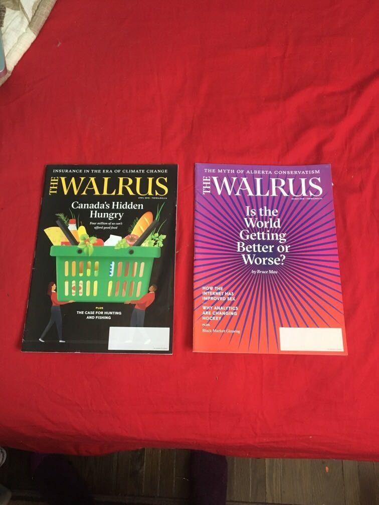 The walrus magazines