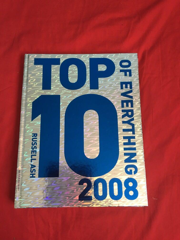 Top 10 of everything book