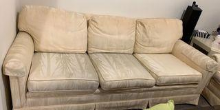 Two couches and table
