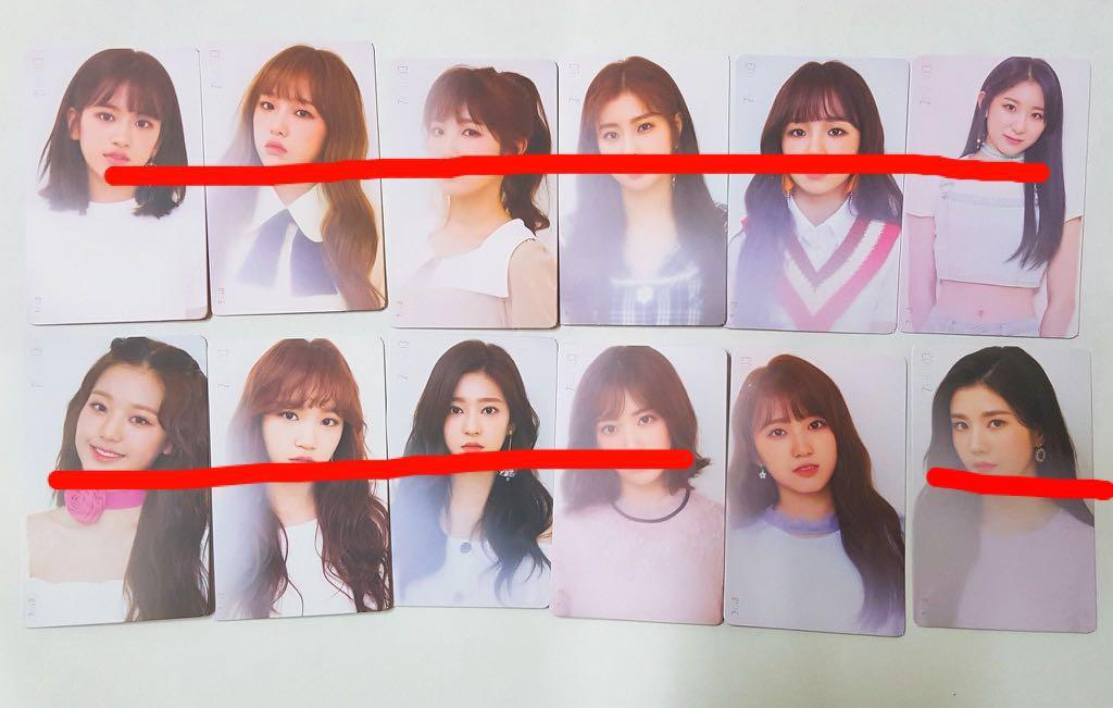 [WTS] IZ*ONE IZONE COLOR*IZ Kihno Photocard Color Ver