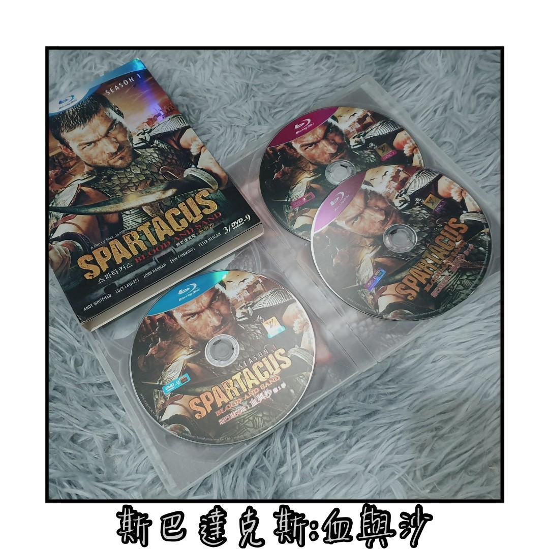 斯巴達克斯:血與沙 浴血戰士:血與沙 第一季 Spartacus:Blood and Sand 藍光 BD DVD