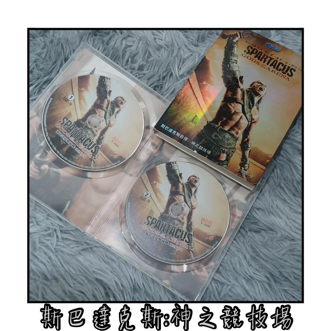 斯巴達克斯:神之競技場 浴血戰士:競技場之神 前傳 Spartacus:Gods of the arena 藍光 BD DVD