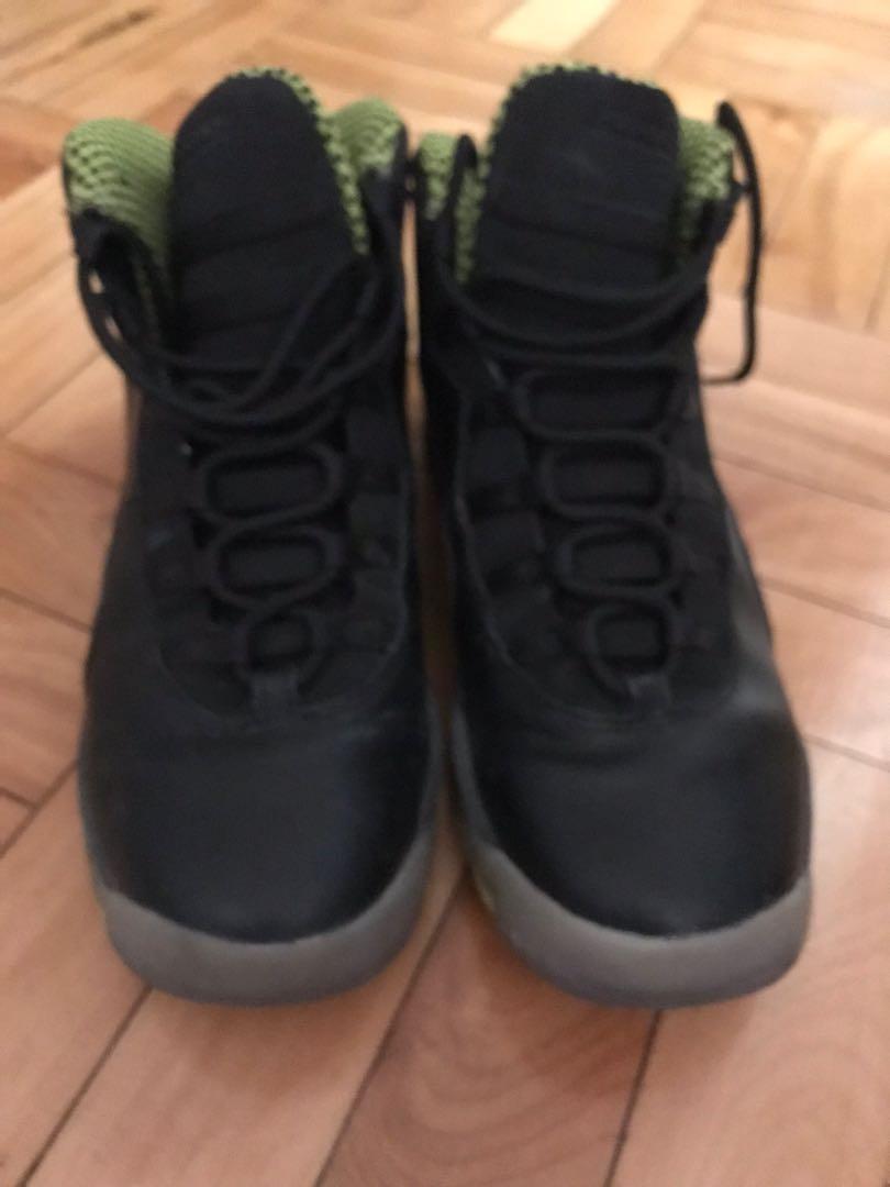 Air Jordan's 10 Black Size 6.5 Youth