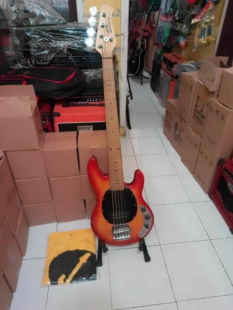 Bass elektrik musicman