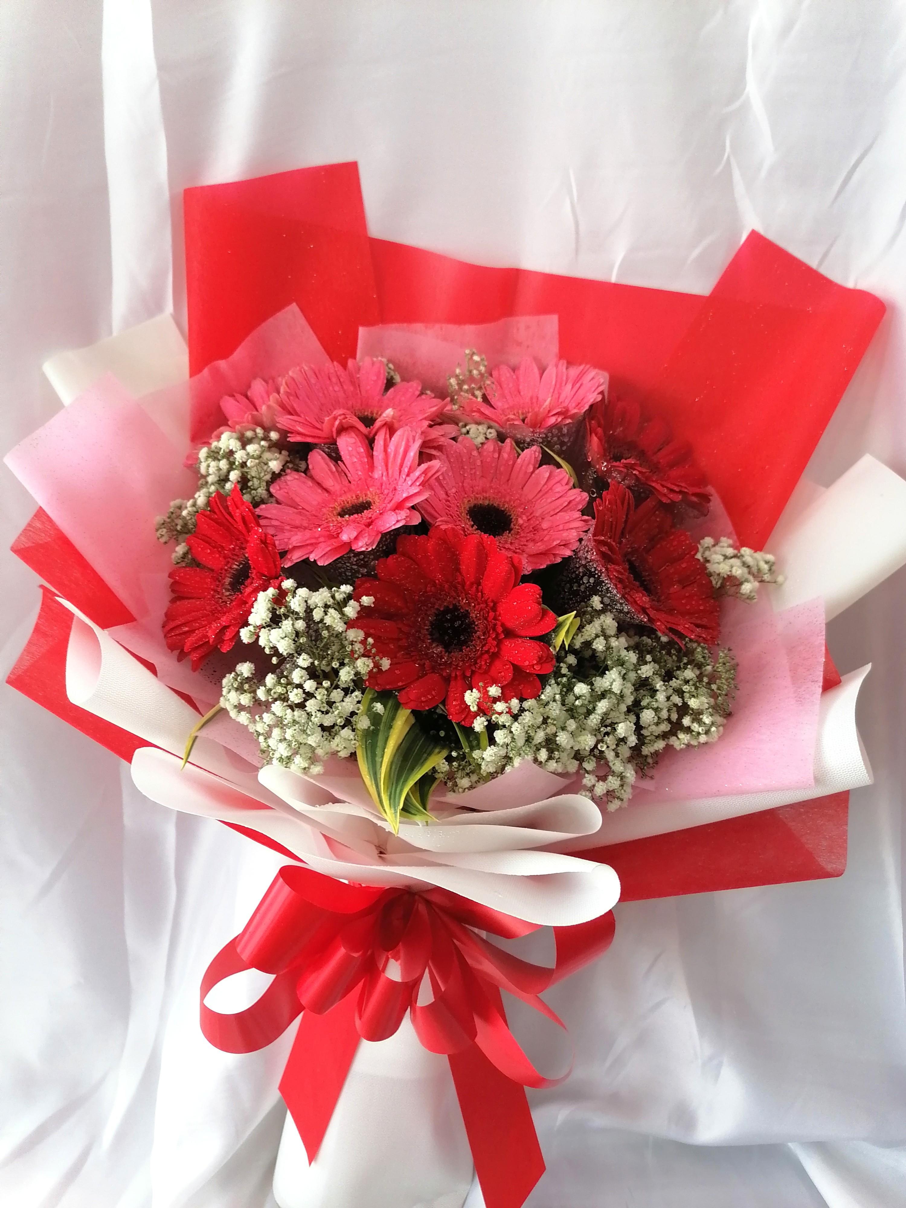 Daisy Flower Bouquet On Carousell