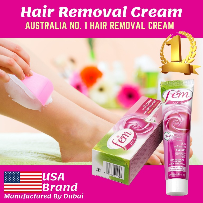 Fem Hair Removal Cream Leg Arms Armpits No More Painful Maxing Top Selling Product In Australia Health Beauty Bath Body On Carousell