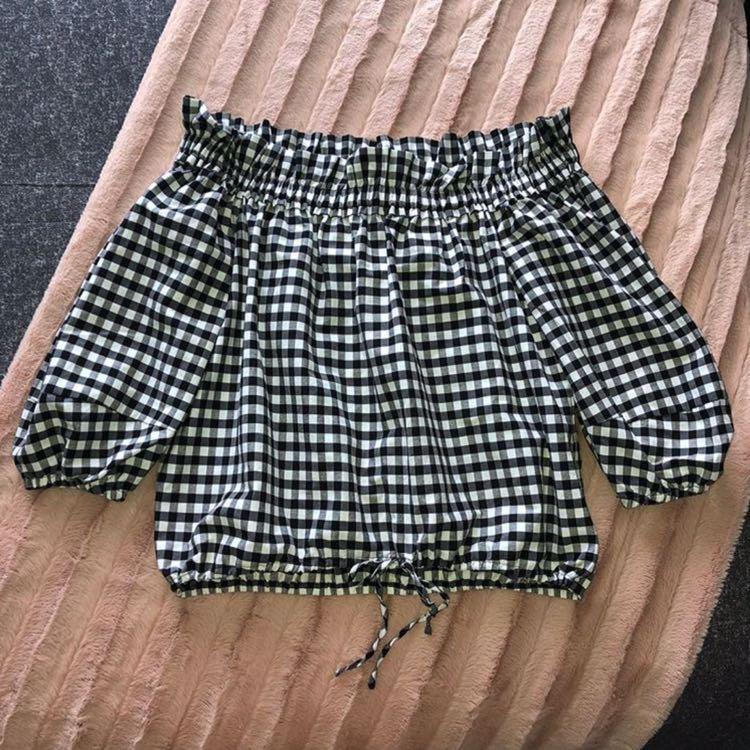 Forever New gingham top