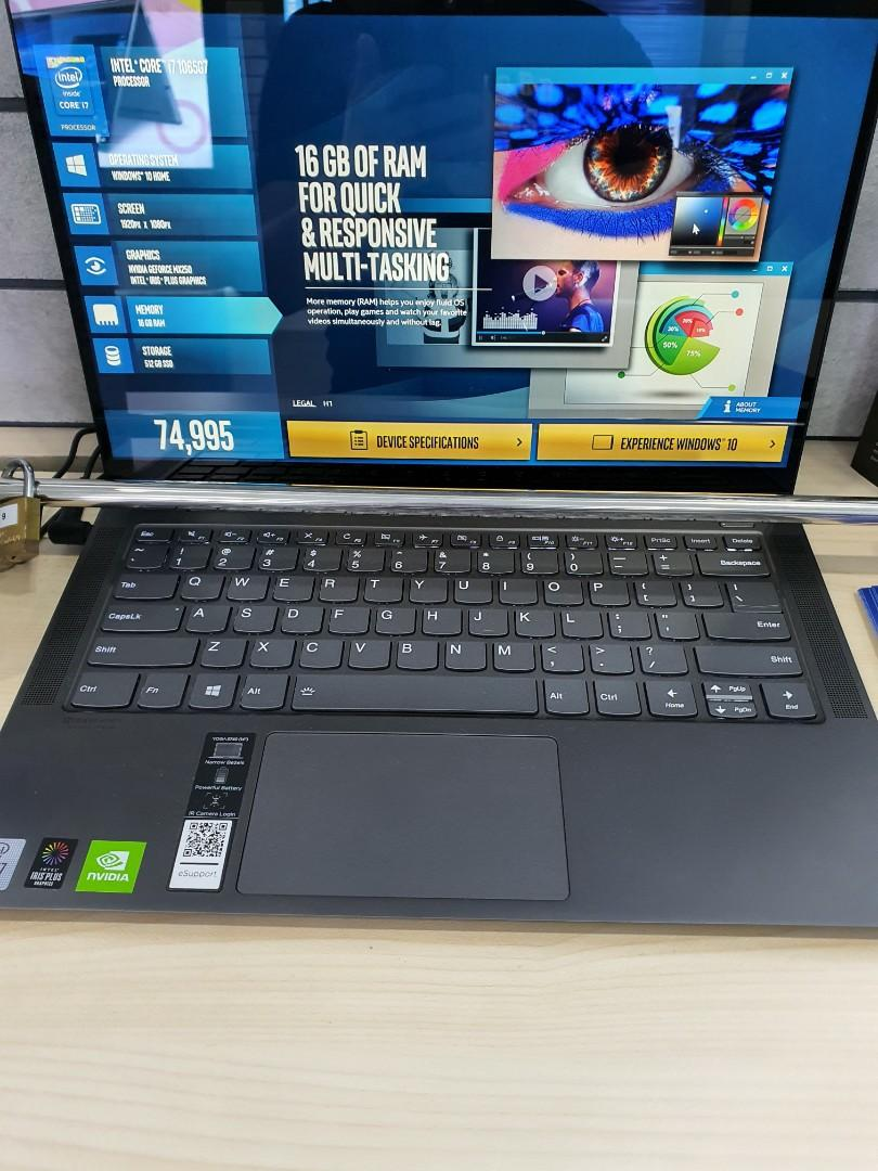 Lenovo Yoga S740 Electronics Computers Laptops On Carousell