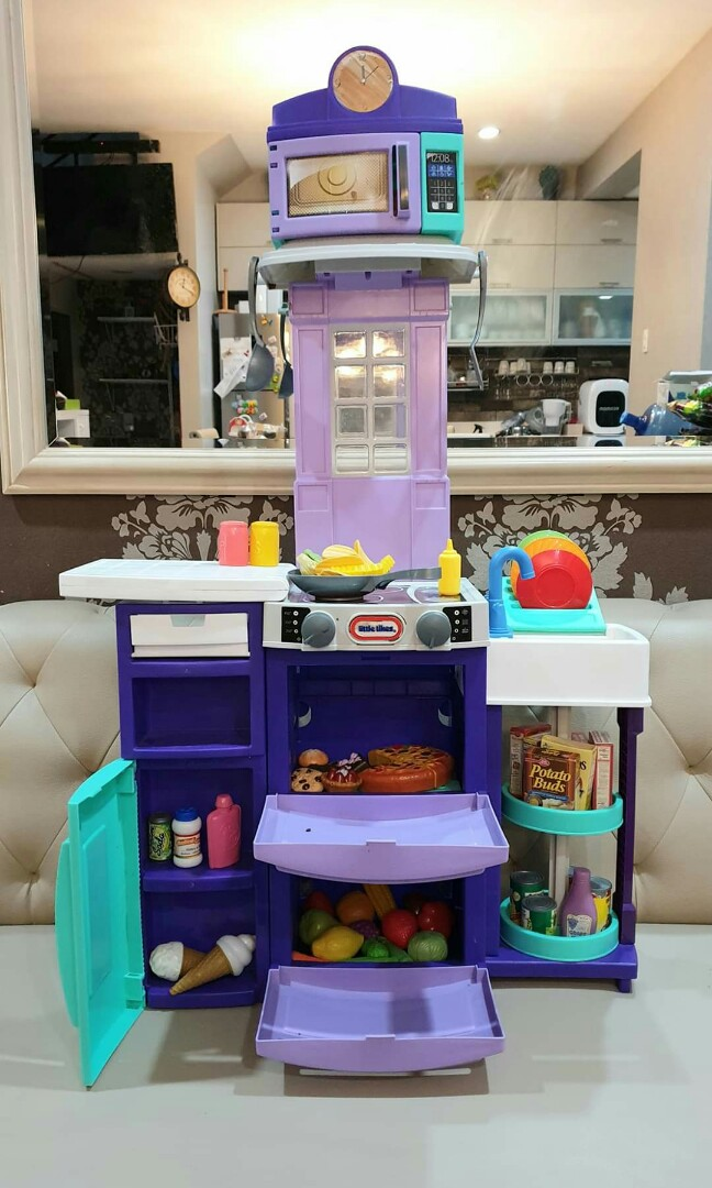 Little Tikes Kitchen Play Set Babies Kids Infant Playtime On Carousell