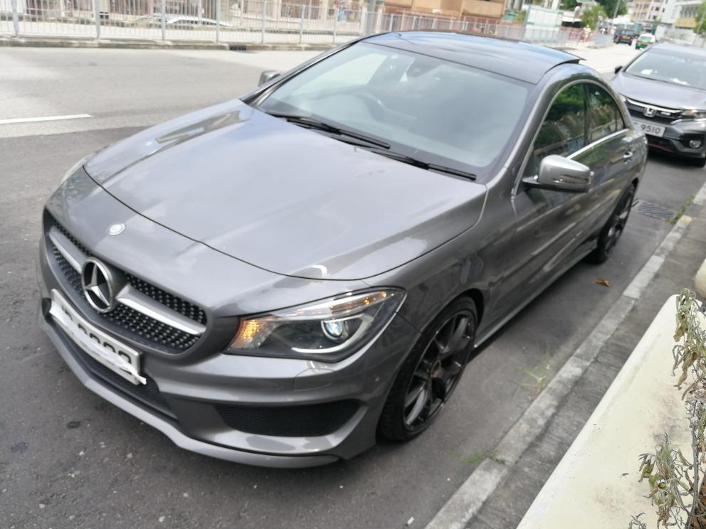 Mercedes-Benz CLA250 Shooting Brake 4Matic (A)