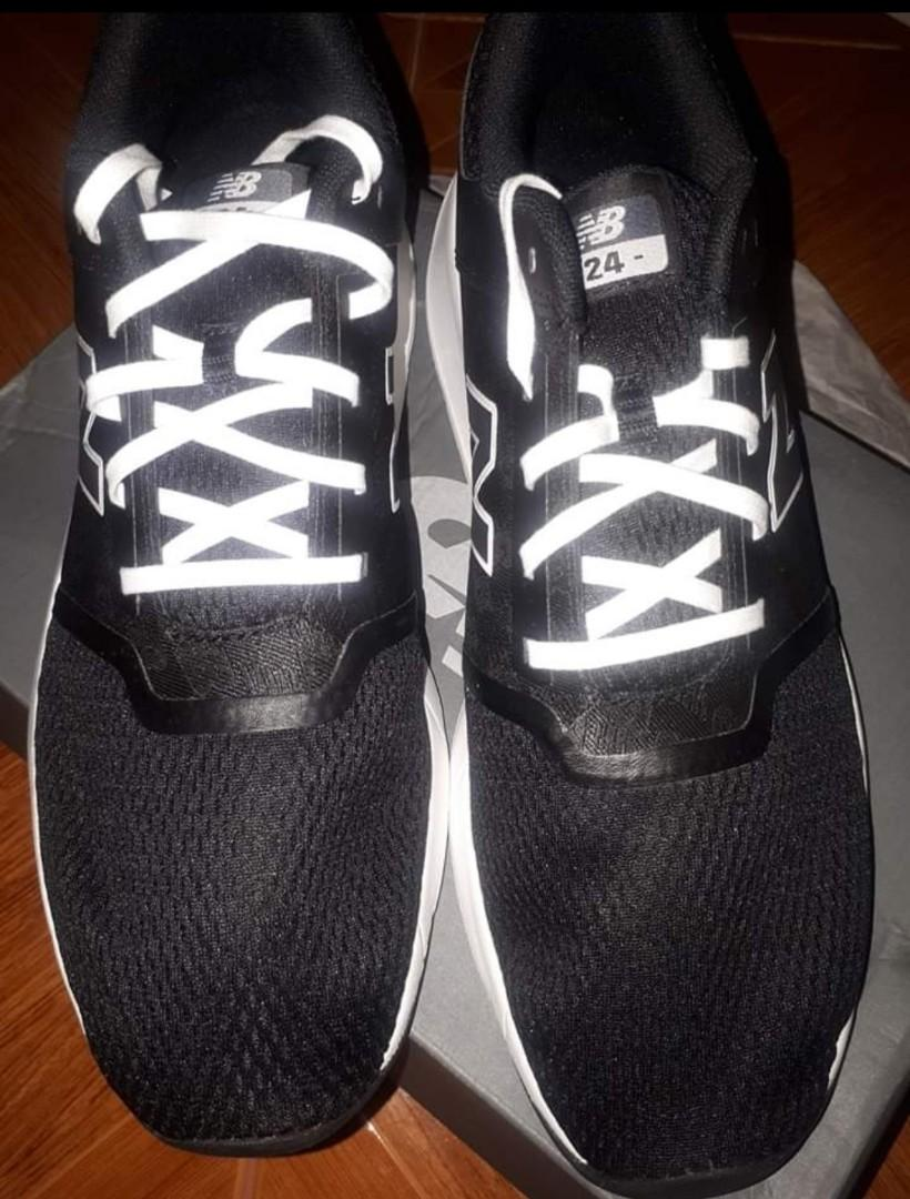 balance 24 classic sneaker black size