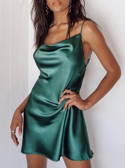 Princess Polly green dress