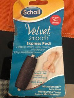 Scholl Pedi replacement rollers brand new