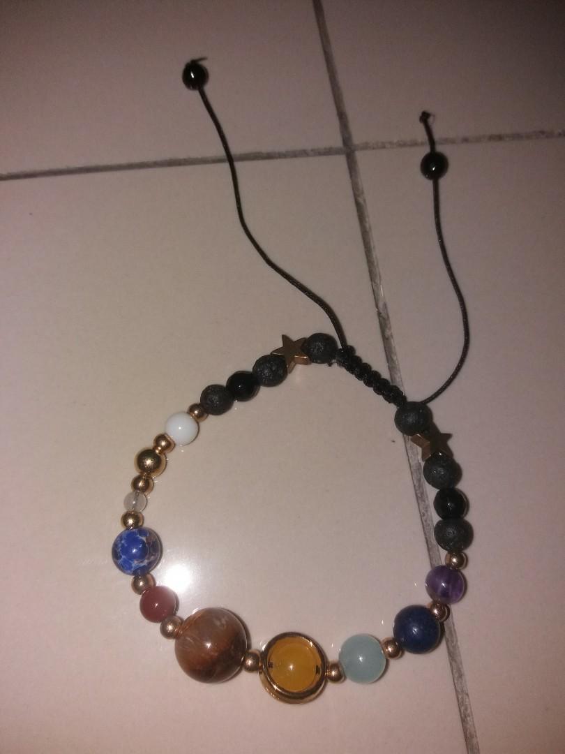 Stars & Planet Adjustable Bracelet