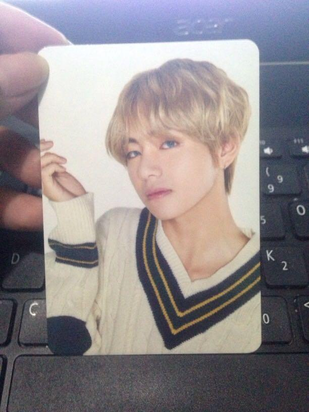 V Bts Photocard K Wave On Carousell